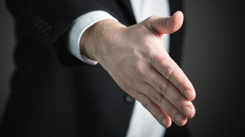 lean hand